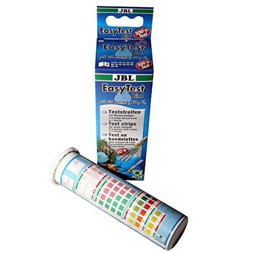 JBL 2533900 Tiras de análisis de Agua EasyTest 6 en 1