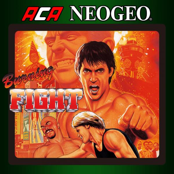 ACA NEOGEO BURNING FIGHT