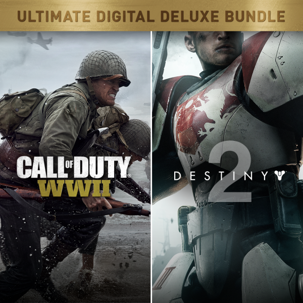 Lote Call of Duty®: WWII + Destiny 2 Digital Deluxe