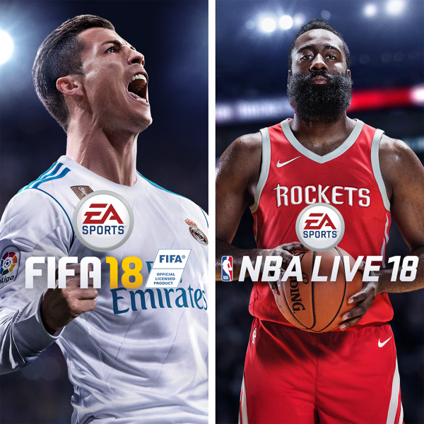 Pack de EA SPORTS™ FIFA 18 y NBA LIVE 18: The One Edition