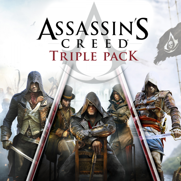 Pack triple Assassin's Creed: Black Flag