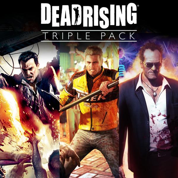 Paquete triple de Dead Rising